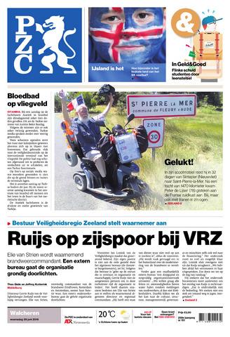 Provinciale Zeeuwse Courant 2016-06-29