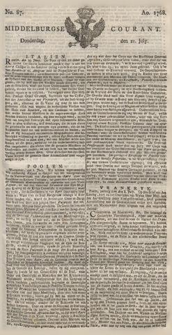 Middelburgsche Courant 1768-07-21