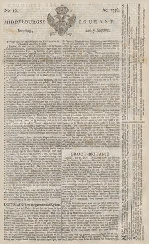 Middelburgsche Courant 1758-08-05