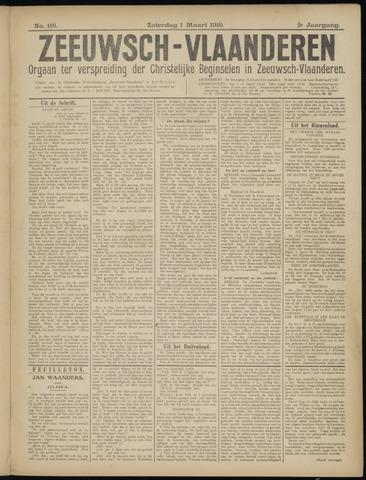 Luctor et Emergo. Antirevolutionair nieuws- en advertentieblad voor Zeeland / Zeeuwsch-Vlaanderen. Orgaan ter verspreiding van de christelijke beginselen in Zeeuwsch-Vlaanderen 1919-03-01
