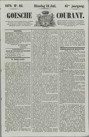 Goessche Courant 1874-07-14