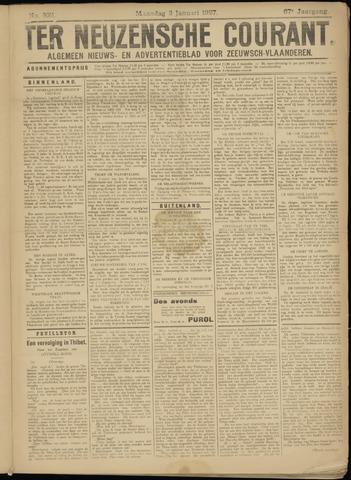 Ter Neuzensche Courant. Algemeen Nieuws- en Advertentieblad voor Zeeuwsch-Vlaanderen / Neuzensche Courant ... (idem) / (Algemeen) nieuws en advertentieblad voor Zeeuwsch-Vlaanderen 1927-01-03