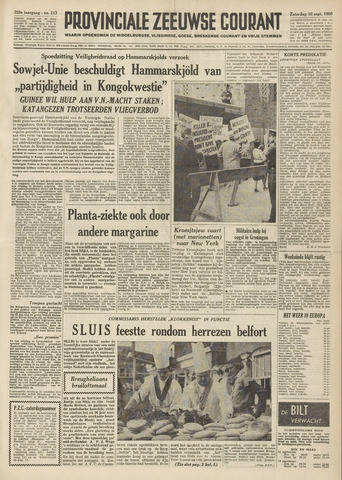 Provinciale Zeeuwse Courant 1960-09-10