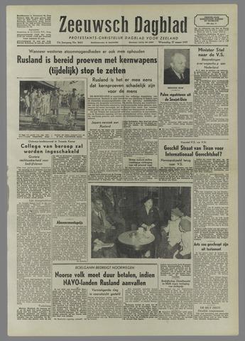 Zeeuwsch Dagblad 1957-03-27