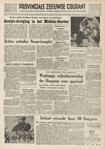 Provinciale Zeeuwse Courant 1956-11-12