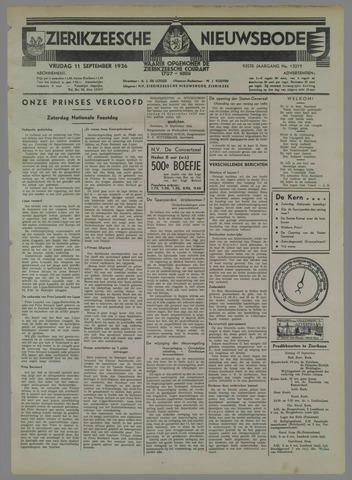 Zierikzeesche Nieuwsbode 1936-09-11