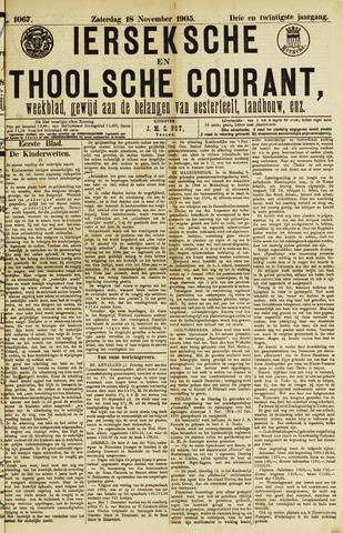 Ierseksche en Thoolsche Courant 1905-11-18