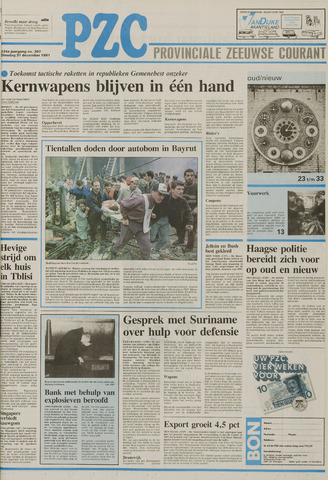 Provinciale Zeeuwse Courant 1991-12-31