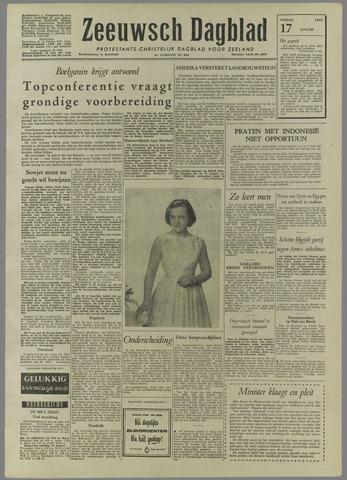 Zeeuwsch Dagblad 1958-01-17
