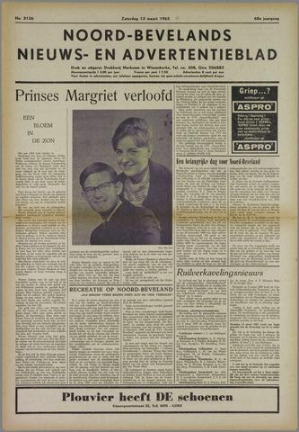 Noord-Bevelands Nieuws- en advertentieblad 1965-03-13