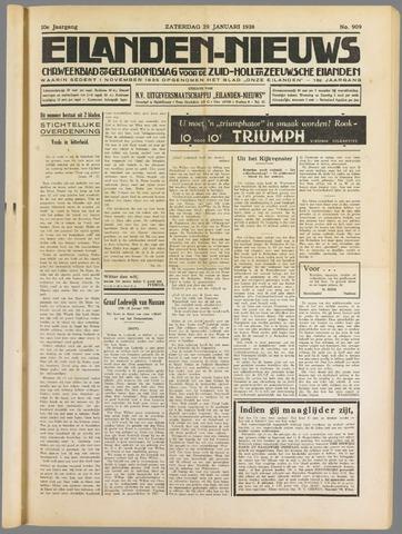 Eilanden-nieuws. Christelijk streekblad op gereformeerde grondslag 1938-01-29