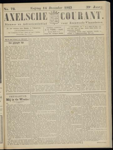 Axelsche Courant 1923-12-14