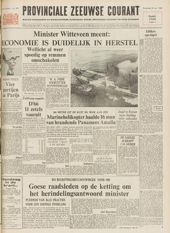 Provinciale Zeeuwse Courant 1968-11-28
