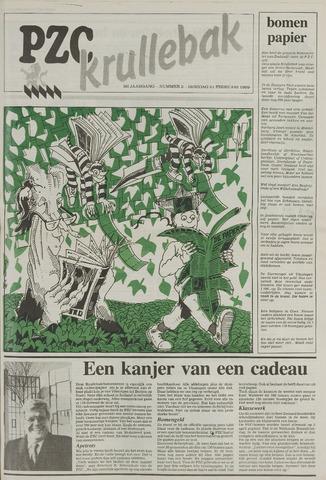 Provinciale Zeeuwse Courant katern Krullenbak (1981-1999) 1989-02-21