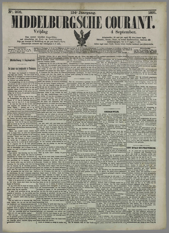 Middelburgsche Courant 1891-09-04