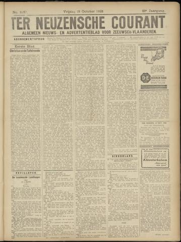Ter Neuzensche Courant. Algemeen Nieuws- en Advertentieblad voor Zeeuwsch-Vlaanderen / Neuzensche Courant ... (idem) / (Algemeen) nieuws en advertentieblad voor Zeeuwsch-Vlaanderen 1928-10-19