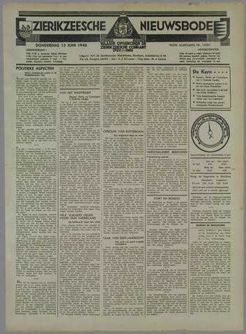 Zierikzeesche Nieuwsbode 1940-06-13