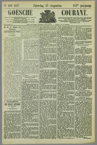 Goessche Courant 1917-08-25