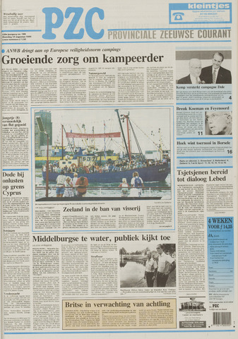 Provinciale Zeeuwse Courant 1996-08-12