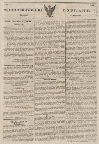 Middelburgsche Courant 1844-12-07