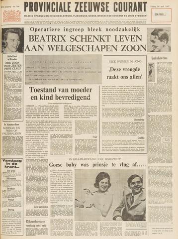 Provinciale Zeeuwse Courant 1967-04-28