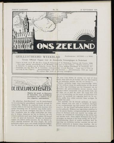 Ons Zeeland / Zeeuwsche editie 1926-09-25