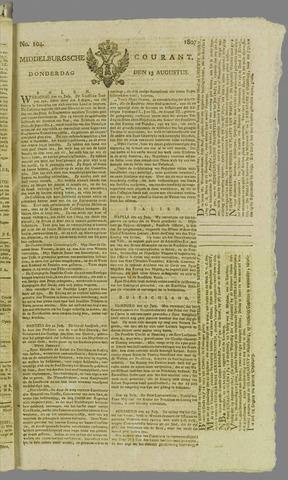 Middelburgsche Courant 1807-08-13