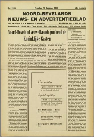 Noord-Bevelands Nieuws- en advertentieblad 1950-08-26