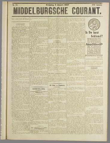 Middelburgsche Courant 1927-03-04