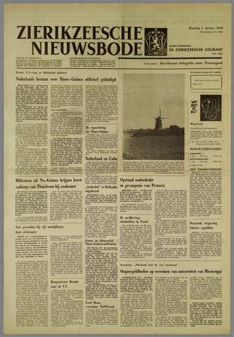 Zierikzeesche Nieuwsbode 1962-10-01