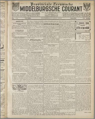 Middelburgsche Courant 1930-07-05