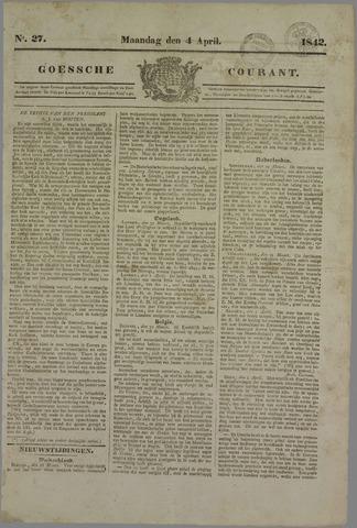Goessche Courant 1842-04-04