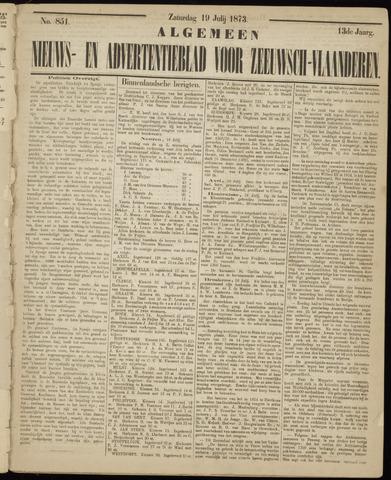 Ter Neuzensche Courant. Algemeen Nieuws- en Advertentieblad voor Zeeuwsch-Vlaanderen / Neuzensche Courant ... (idem) / (Algemeen) nieuws en advertentieblad voor Zeeuwsch-Vlaanderen 1873-07-19