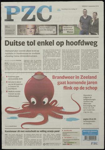 Provinciale Zeeuwse Courant 2014-09-05