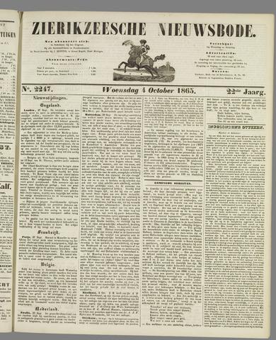 Zierikzeesche Nieuwsbode 1865-10-04