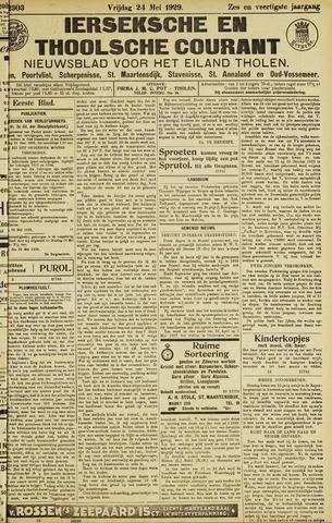 Ierseksche en Thoolsche Courant 1929-05-24