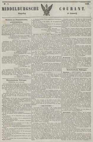 Middelburgsche Courant 1850-01-15