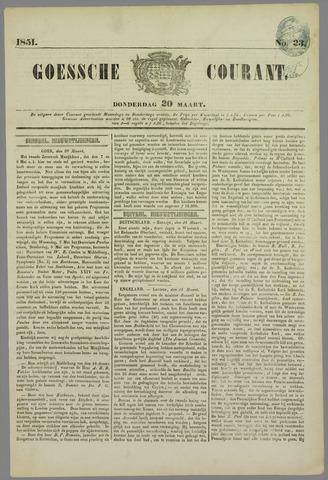 Goessche Courant 1851-03-20