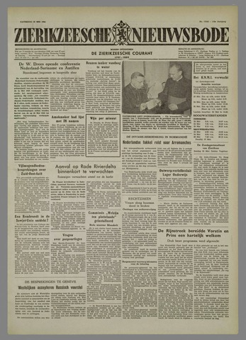 Zierikzeesche Nieuwsbode 1954-05-22
