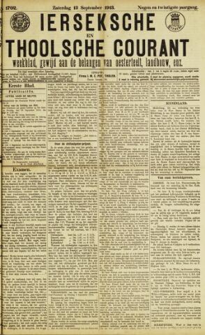 Ierseksche en Thoolsche Courant 1913-09-13