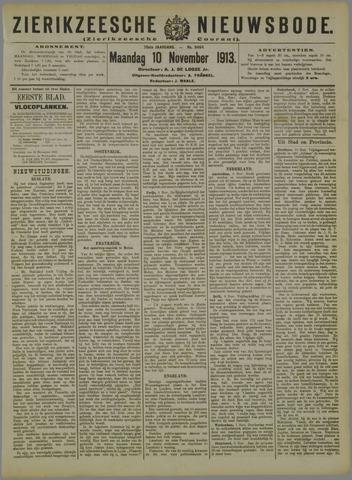 Zierikzeesche Nieuwsbode 1913-11-10