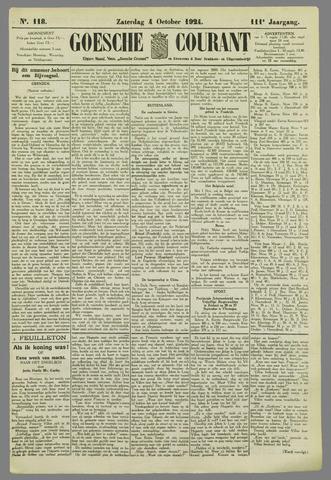 Goessche Courant 1924-10-04