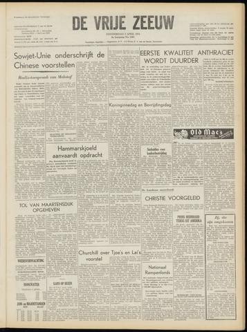 de Vrije Zeeuw 1953-04-02