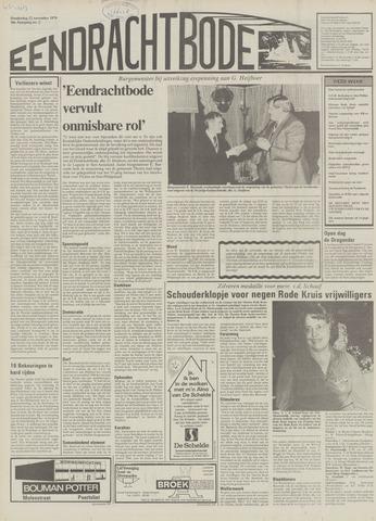 Eendrachtbode (1945-heden)/Mededeelingenblad voor het eiland Tholen (1944/45) 1979-11-22