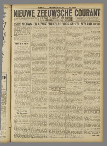 Nieuwe Zeeuwsche Courant 1924-10-30