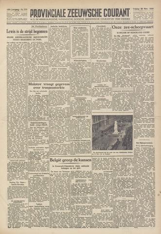 Provinciale Zeeuwse Courant 1946-11-22