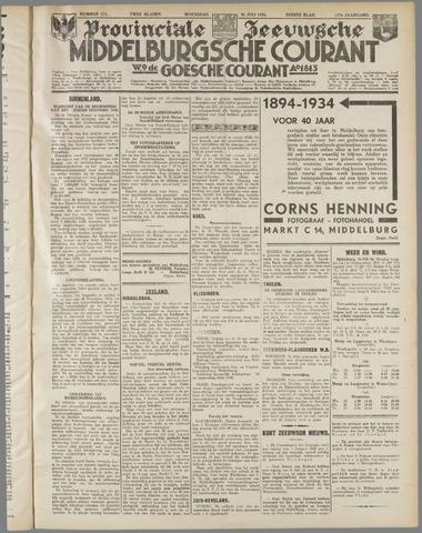 Middelburgsche Courant 1934-07-25