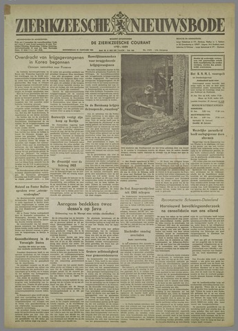 Zierikzeesche Nieuwsbode 1954-01-21