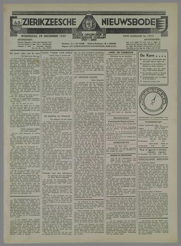 Zierikzeesche Nieuwsbode 1937-12-29