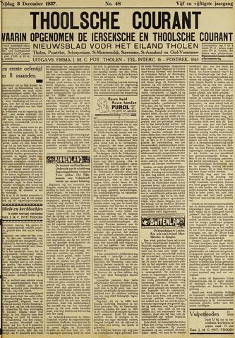 Ierseksche en Thoolsche Courant 1937-12-03